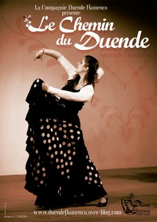 Affiche le chemin du duende cie duende flamenco