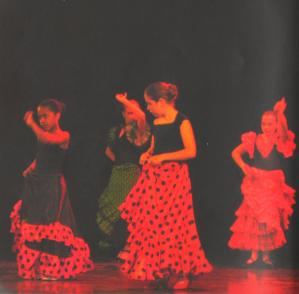 Enfants flamenco mjc palente 2007